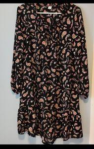 Old Navy Dresses - Old Navy Floral Paisley Dress Sz L